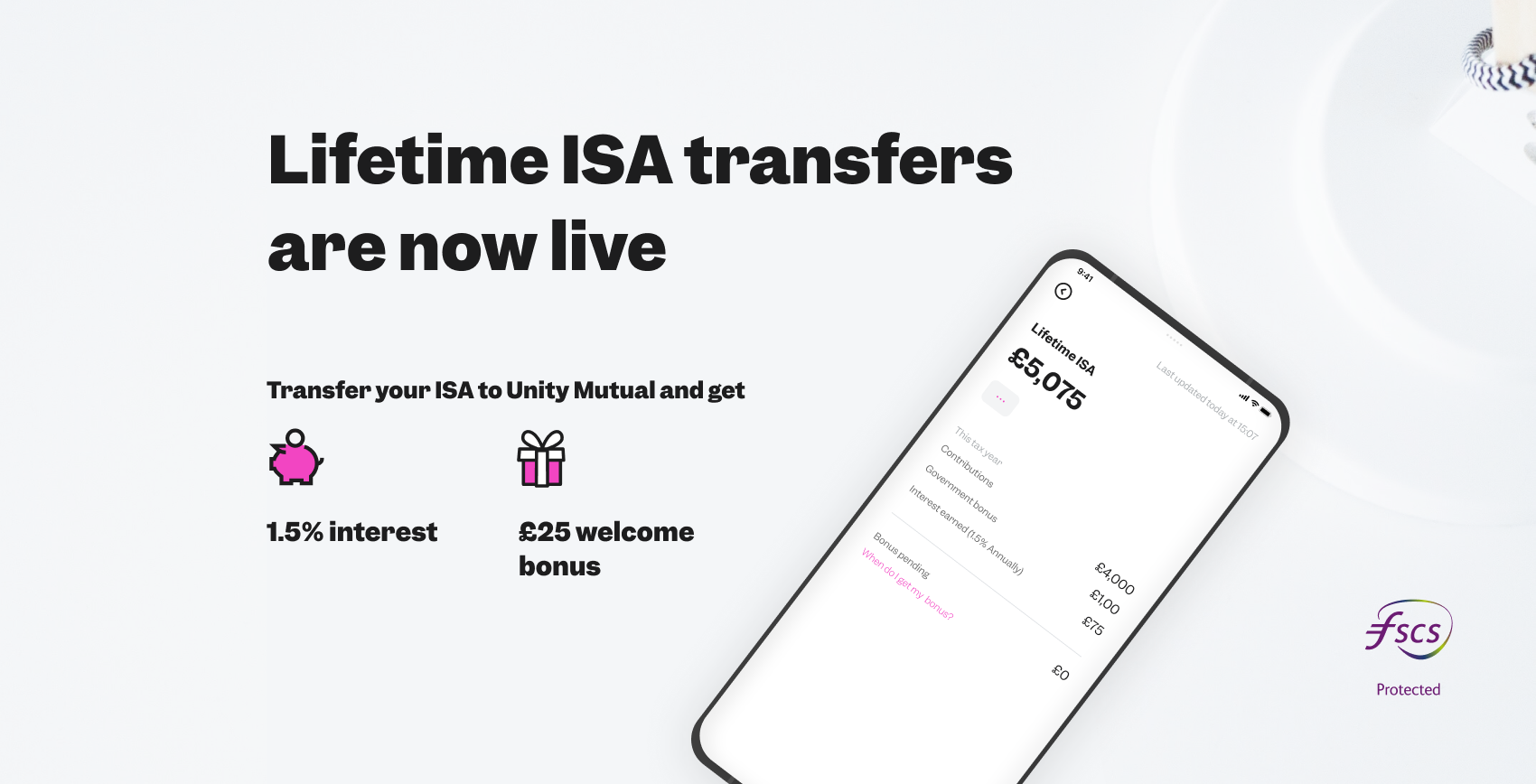 Lifetime ISA transfers are live